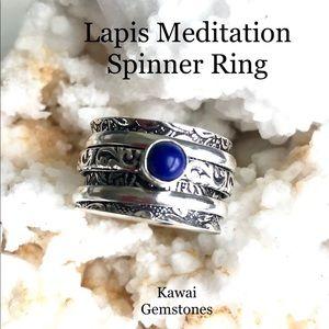 Jewelry - Tibetan Spinner Ring✨925 Silver